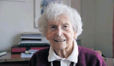 Décès d'Hélène Hoerni-Jung (1914-2014)